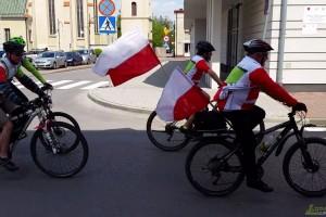 Święto flagi na rowerze