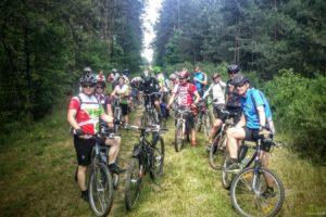 II edycja rajdu pieszo-rowerowego szlakiem wąskotorówki